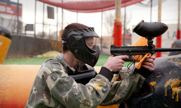 Hinkle Family Fun Center - Northeast Heights: Paintball Outing for Two, Four, or Six at Hinkle Family Fun Center (Up to 57% Off)