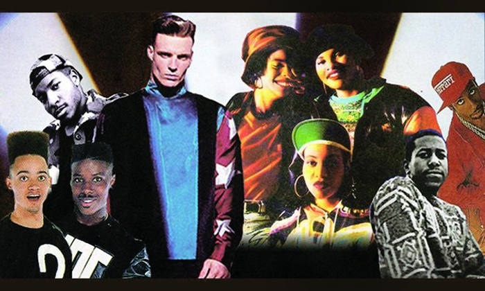 I Love the 90's - Tuscaloosa Amphitheater: I Love the 90's with Vanilla Ice, Salt-N-Pepa, Color Me Badd, All 4 One, Coolio & Young MC on Friday, May 20, at 7 p.m.