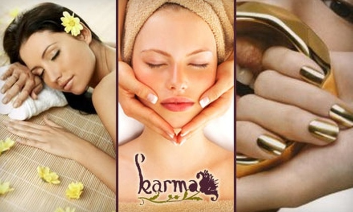 Karma: A Relaxation Spa - Juneau Town: Luxurious Spa Services at Karma: A Relaxation Spa. Choose from Three Options.