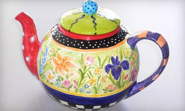 Artistic Way - Humewood - Cedarvale: $35 for a Two-Hour BYOB Ladies Night Out Workshop in Ceramic and Pottery Painting or Glass Fusing at Artistic Way ($70 Value)