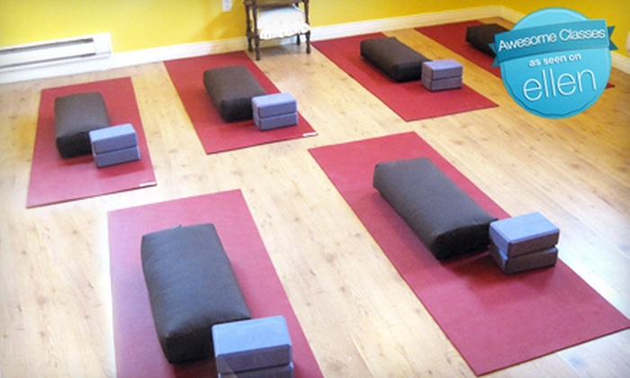 Shine Wellness Space - Vancouver: $39 for 10 Yoga Classes at Shine Wellness Space in New Westminster ($120 Value)