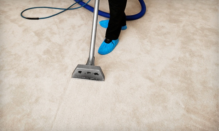 Tony's Fresh Start Carpet Cleaning - County Line Coalition: $39 for Five Rooms of Carpet Cleaning with Quick-Dry Service from Tony's Fresh Start Carpet Cleaning (Up to $95 Value)
