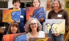 Studio Griffin - Central Campus,North Loop: $35 for Studio Griffin Art+Wine Night for Two ($70 Value)