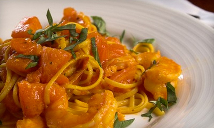 J. Marinara's - Verde Catalina Townhouses: Italian Dinner Fare for Two or Four at J. Marinara's (Up to 53% Off)