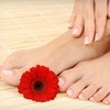 Up to 52% Off Mani-Pedi at Safra Day Spa