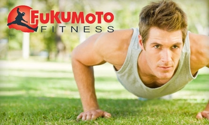 Fukumoto Fitness - Multiple Locations: $40 for a Month-Long Boot Camp from Fukumoto Fitness ($177 Value)