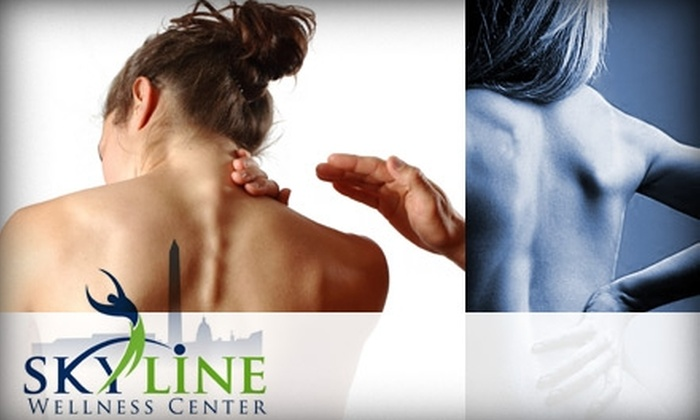 Skyline Wellness Center - Alexandria West: $29 for a Chiropractic Exam, X-Rays, Adjustment, and Massage at Skyline Wellness Center