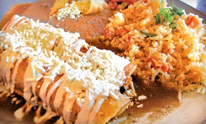 La Bamba Restaurant - Winnipeg: $15 for $30 Worth of Authentic Mexican Fare at La Bamba Restaurant (or $8 for $16 Worth of Lunch)
