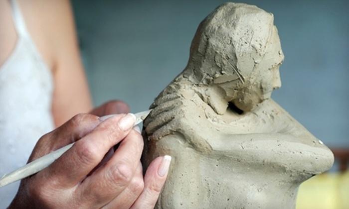 Ben Navaee Gallery - Leslieville: $189 for a Half-Day Sculpting Workshop at Ben Navaee Gallery ($480 Value)