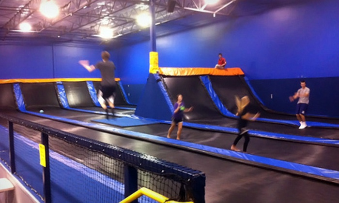Cosmic Jump - Allen: $12 for Two 60-Minute Jump Passes at Cosmic Jump in Allen ($24 Value)