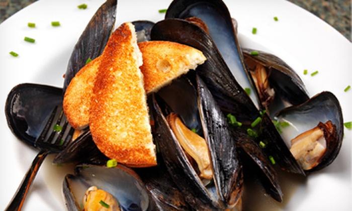 Mediterra - Broad Ripple: $20 for $40 Worth of Bistro Food for Two at Mediterra