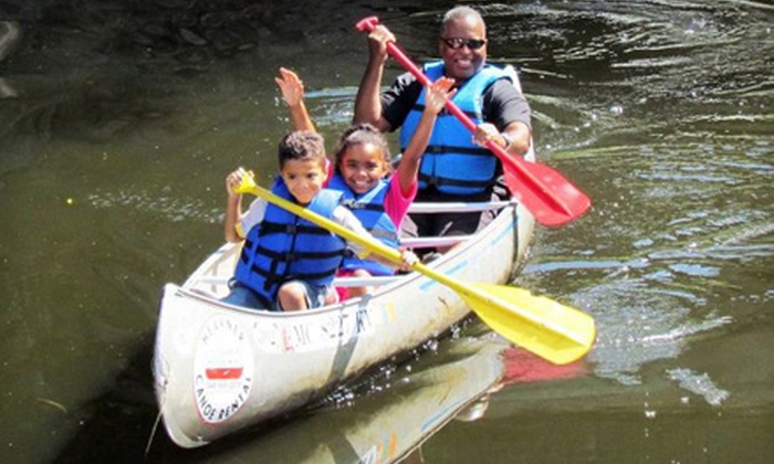 Heavner Canoe Rental - Proud Lake Location: $12 for a Two-Hour Canoe or Kayak Rental from Heavner Canoe Rental in Milford ($24 Value)