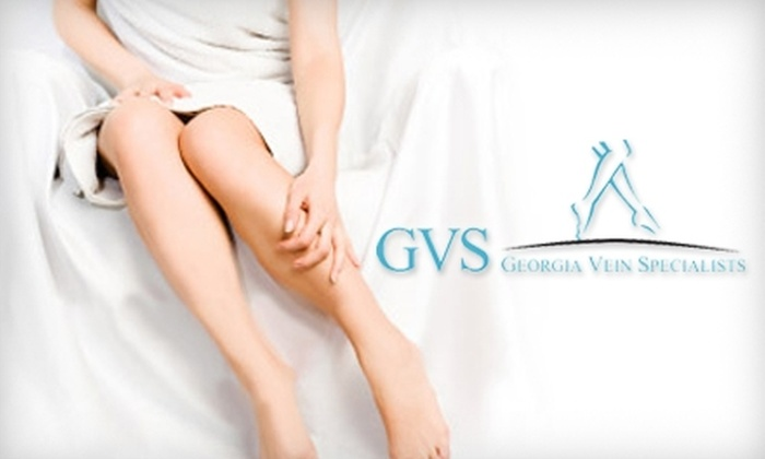 Georgia Vein Specialists - Multiple Locations: $149 for Spider-Vein Treatment for the Legs Plus a Consultation and Ultrasound at Georgia Vein Specialists ($550 Value)
