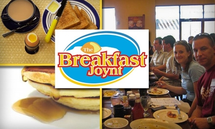 The Breakfast Joynt - Northsight: $7 for $15 Worth of Morning and Lunch Bites at The Breakfast Joynt