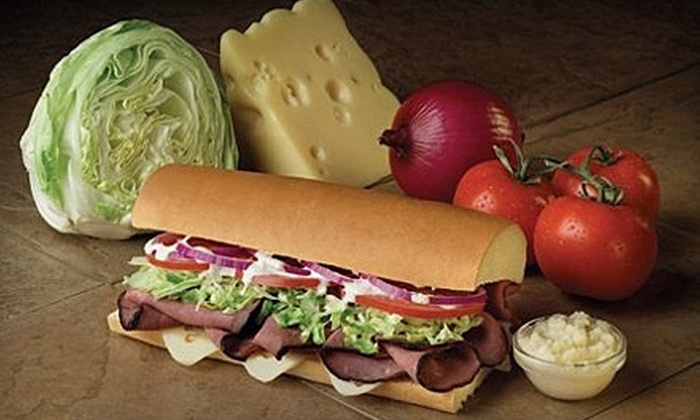 Port of Subs - Multiple Locations: $5 for $10 Worth of Subs and More at Port of Subs