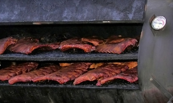 Slabtown Ribs & BBQ - Northwest District: $10 for $20 Worth of Barbecue Fare at Slabtown Ribs & BBQ