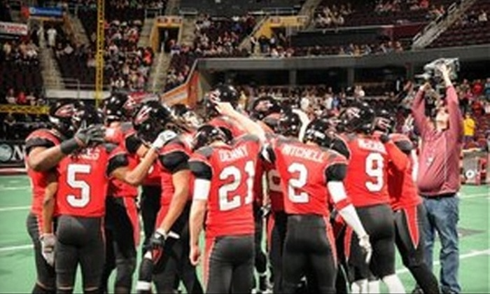 Cleveland Gladiators - Downtown: Ticket to the Cleveland Gladiators' Arena Football League Game on April 2. Choose Between Two Seating Options.
