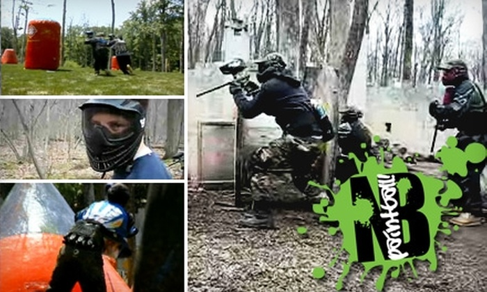 New Breed Paintball - West Milford: $30 for Admission, Gear Rental, and 500 Rounds at New Breed Paintball ($60 Value)