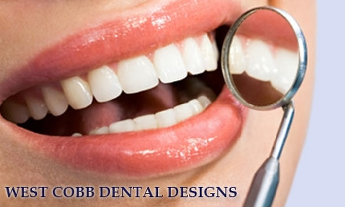 West Cobb Dental Designs - Marietta: $99 for Your Choice of One of Four Dental Services at West Cobb Dental Designs