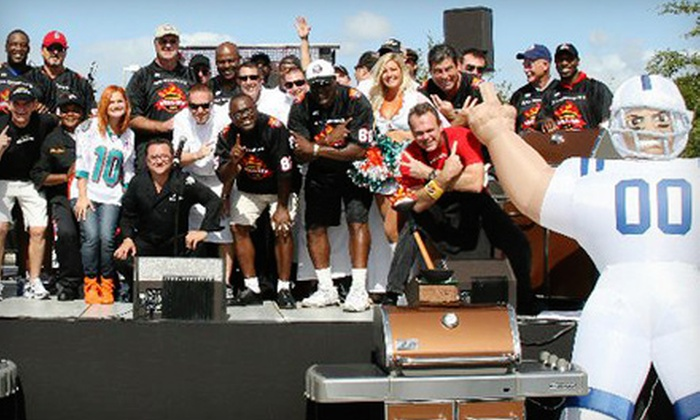 Gridiron Grill-Off - Old Pompano: $40 for Ticket to Celebrity Food-and-Wine Festival Outing in Pompano ($75 Value)