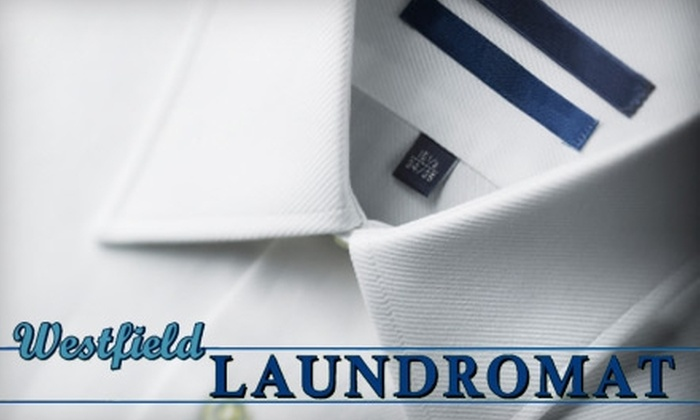Westfield Laundromat - Westfield: $10 for Comforter Dry Cleaning (Up to $22 Value), or $10 for $20 worth of Dry Cleaning for Clothing at Westfield Laundromat in Westfield