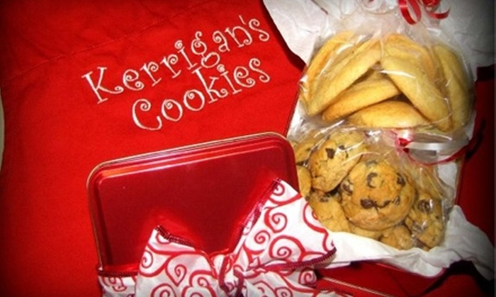 Kerrigan's Cookie Shoppe: $7 for 24 Chocolate Chip or Sugar Cookies from Kerrigan's Cookie Shoppe