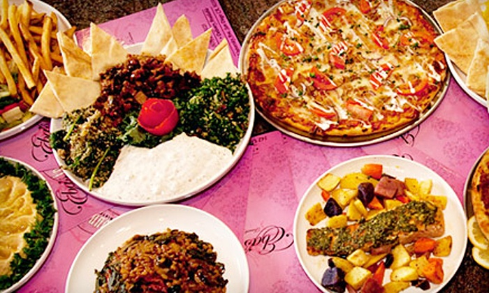 Eba's Lounge and Bistro - Hillcrest: Mediterranean Fare and Drinks at Eba's Lounge and Bistro (Up to 59% Off)