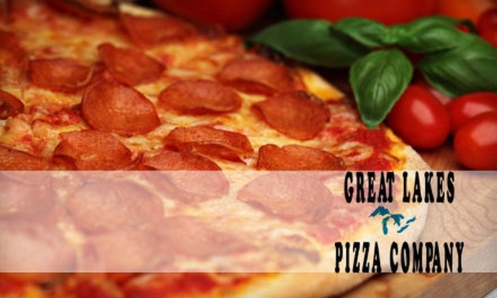 Great Lakes Pizza Company - West Seneca: $6 for a Large Gourmet Pizza from Great Lakes Pizza Company