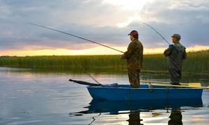 Les Étangs de Romainville : Pêche à la truite avec location de la canne - Demi-journée pour 1, 2, 3 ou 4 pers. dès 24 € aux Étangs de Romainville