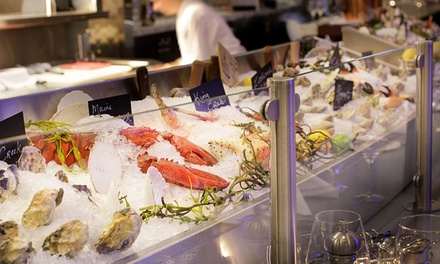 Seafood and Drinks at 801 Fish (47% Off). Two Options Available.