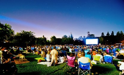 Admission for Two People to Outdoor <strong>Movie</strong> Screening from Eat|See|Hear (Up to 59% Off)