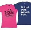 Women's Football Tees