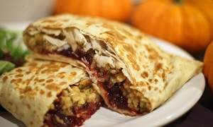 Crazy Crepe Cafe: Two or Four Crepes at Crazy Crepe Cafe Mount Sinai (Up to 45% Off)