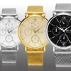 So & Co New York Men's Mesh Chronograph Watch Collection