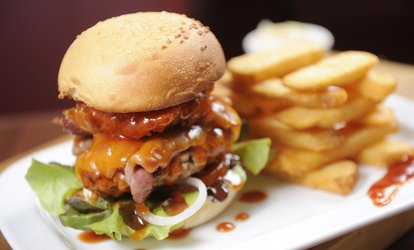 image for Up to 40% Off Food & Drink at Silk City Saloon
