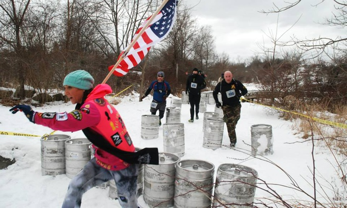 Blizzard Blast - Four Oaks Coun­try Club: $49 for Blizzard Blast Obstacle-Course Race Entry on Sunday, January 25 ($89 Value)