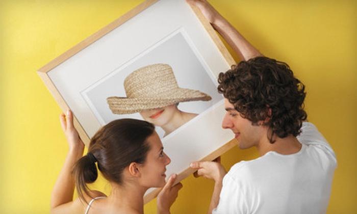 Metro Art & Frame - Multiple Locations: $75 Worth of Art and Custom Framing