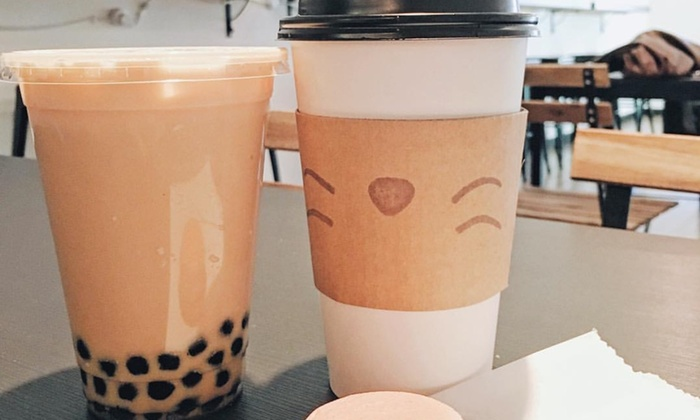 Blank Space Cafe - Downtown Bellevue: Two Bubble Teas at Blank Space Cafe (40% Off)
