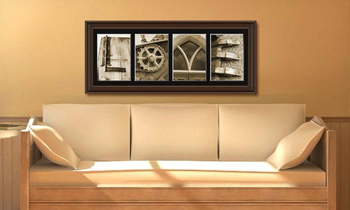 Custom Framed Letter Art: $59 for $135 Worth of Custom Framed Letter Art from Frame The Alphabet
