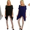 Lyss Loo Women's Draped Tunic