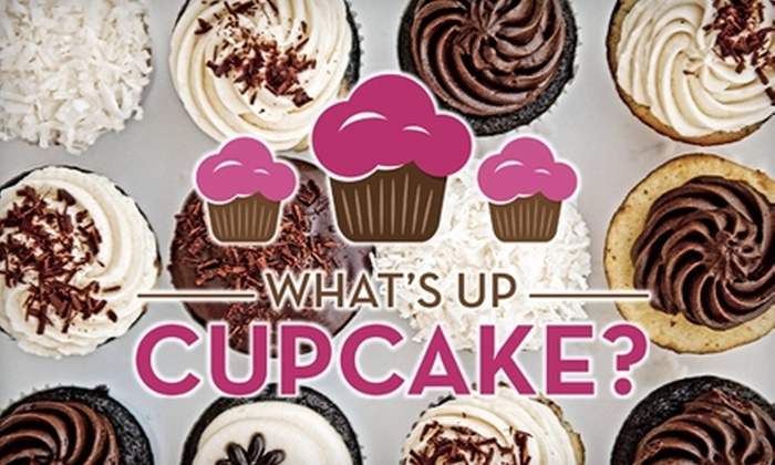 What's Up Cupcake? - Keller: $7 for a Half-Dozen Cupcakes at What's Up Cupcake? (Up to $15.50 Value)