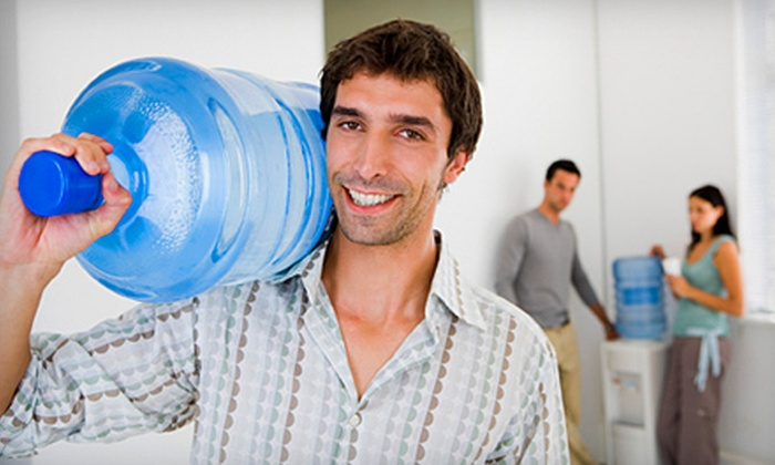 H2O Zone Water - Victoria: $25 for Three Months of Water Delivery, Plus a Water Cooler, from H2O Zone Water (Up to $84 Value)