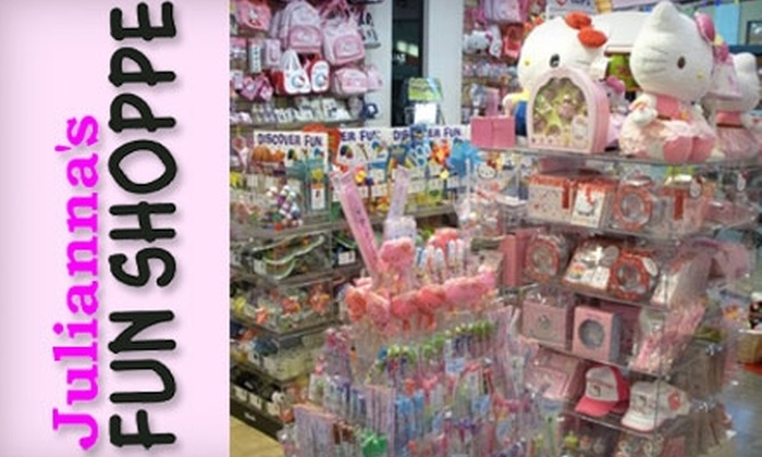 Julianna's Fun Shoppe - Citrus Park Community: $10 for $20 Worth of Toys and Gifts at Julianna's Fun Shoppe