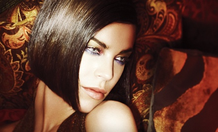 Haircut and Style with Choice of Full Color or Highlights (up to a $266 value) - Richard Joseph SalonSpa in Birmingham