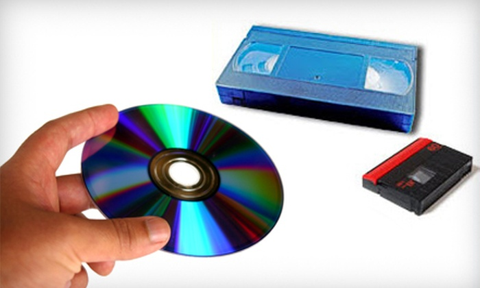 Interactive Video - Scottdale: $14 for Up to Four Hours of Videotape Transfer to Two DVDs from Interactive Video ($49.90 Value)