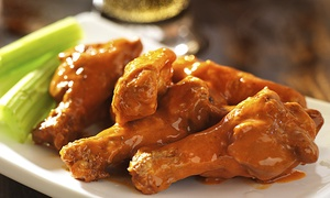 Wild Wings 'n Things: $11 for $20 Worth of Wings, Sandwiches, and Sliders at Wild Wings 'n Things