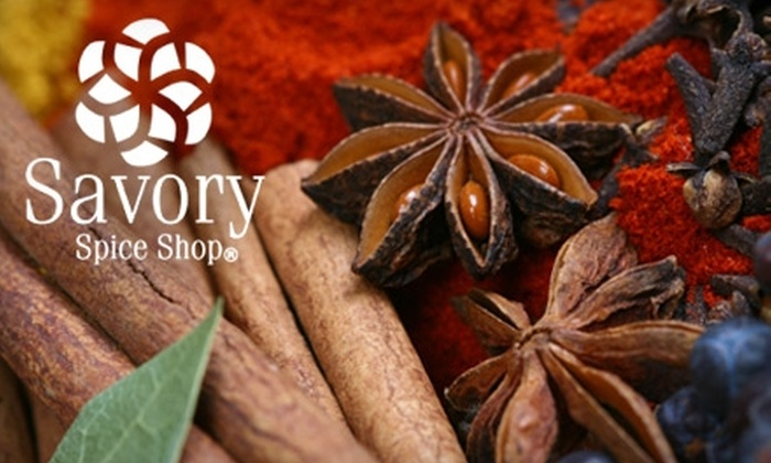 Savory Spice Shop - Westfield: $7 for $15 Worth of Seasonings at Savory Spice Shop in Westfield