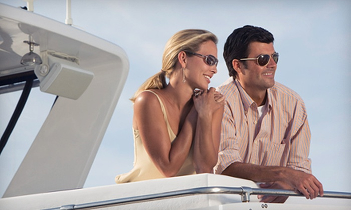 The Advantaged Yacht Charters & Sales - Multiple Locations: $699 for a Half-Day Private Yacht Charter for Up to 10 People from The Advantaged Yacht Charters & Sales ($1,900 Value)