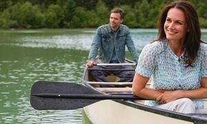 Buckley's Mountainside Canoes: Weekday or Sunday Canoeing or Kayaking for Two, Four, or Eight from Buckley's Mountainside Canoes (Up to 61% Off)