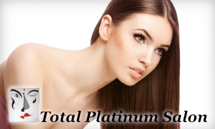 Total Platinum Salon - Fairview: $20 for $40 Worth of Hair Services at Total Platinum Salon in Grove City